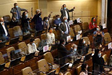 Tercer retiro: diputados que aprobaron expresan dudas en que proyecto sortee el TC y evitan mayores festejos