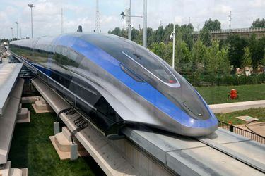 Presentan nuevo tren capaz de alcanzar 600 km/h