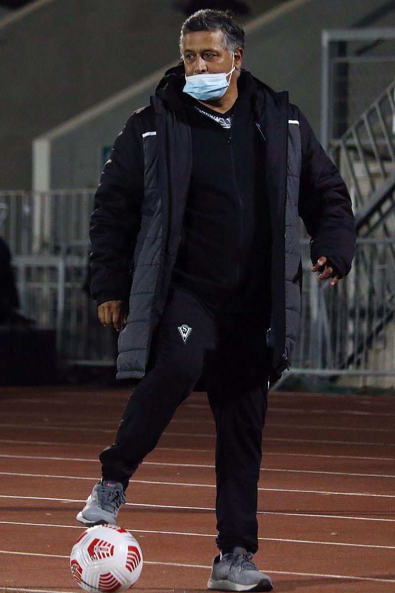Ronald Fuentes, durante el Santiago Wanderers-Deportes Melipilla. FOTO: Agencia Uno.