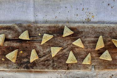 Cómo preparar mini scones de hierbas