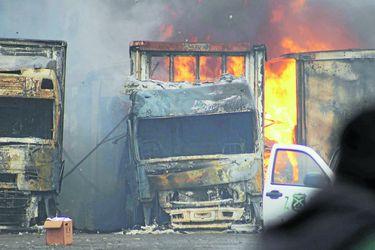 camion quemado camiones quemados 2