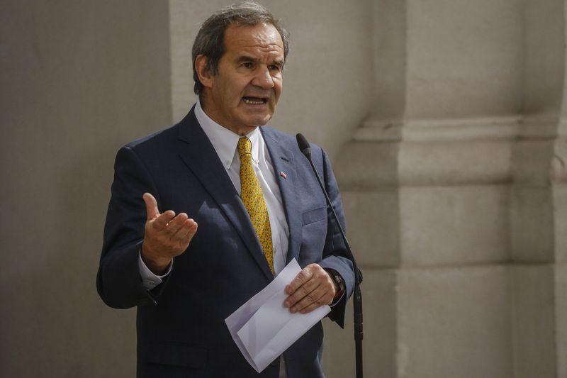 Andrés Allamand, ministro de Relaciones Exteriores.