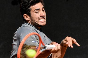 Garin se instala en la segunda ronda del Masters 1000 de Roma mostrando un gran juego