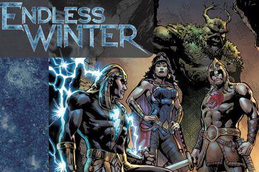"""Conozcan a la Justice League Vikinga y el villano gélido del """"Invierno Eterno"""" de DC Comics"""