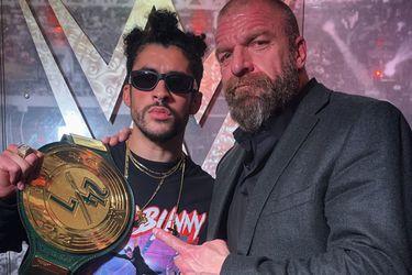 Bad Bunny ahora es campeón en la WWE