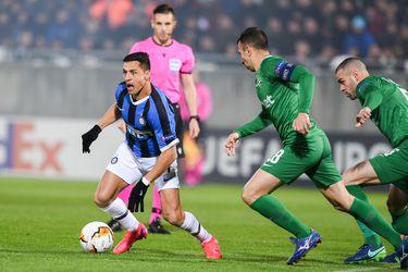 Alexis Sánchez, Inter, Europa League