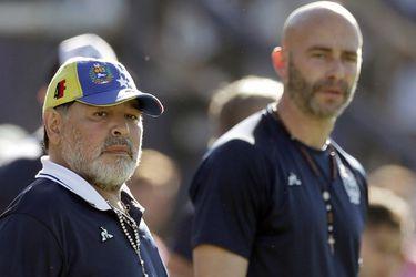 Sebastián Méndez, la mano derecha de Maradona, renuncia a Gimnasia y Esgrima