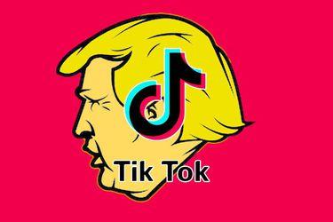 """Una """"impactada"""" TikTok respondió a la orden ejecutiva de Trump: De ser necesario, acudirán a los tribunales"""