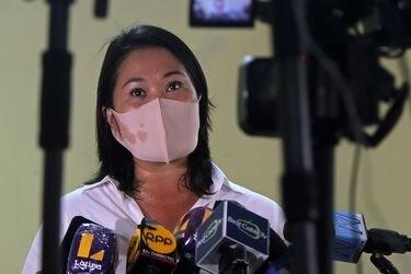 """Keiko Fujimori pide a Evo que """"no se meta"""" en las elecciones de Perú"""