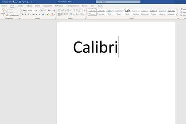 Luego de 15 años Microsoft Office reemplazará a Calibri como su fuente por defecto