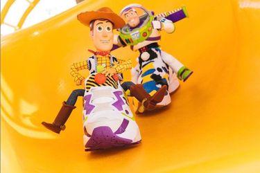 Las nuevas zapatillas de Toy Story creadas por Reebok son muy llamativas