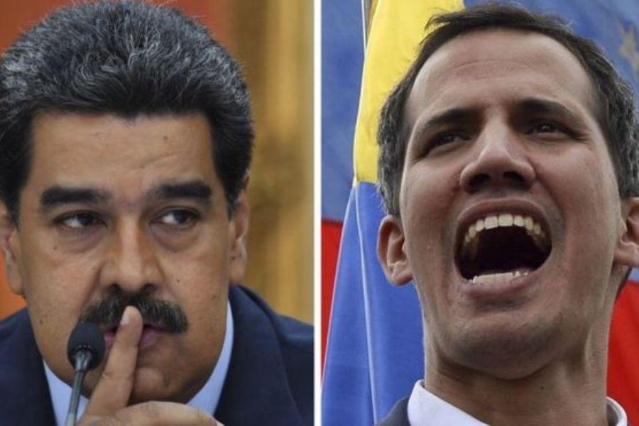 Maduro y Guaido