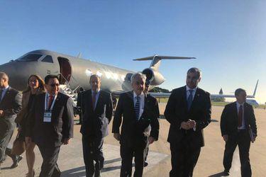 Piñera ya se encuentra en Argentina para abordar organización de Mundial conjunto