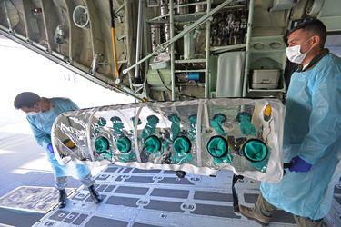 Fach ya tiene operativas las nuevas cápsulas sanitarias para aerotraslado de pacientes con Covid-19