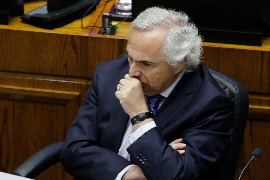 El exministro del Interior Andrés Chadwick.