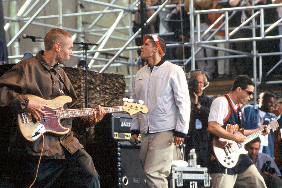 Beastie Boys at Tibetan Freedom Concert 1996
