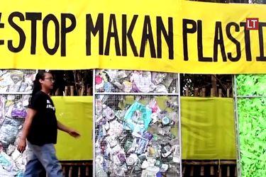 Un museo hecho de residuos plásticos