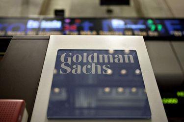 Goldman Sachs Logo At The NYSE