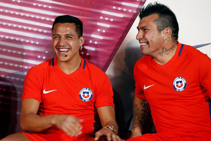 La Selección viste a las principales figuras de la Roja.