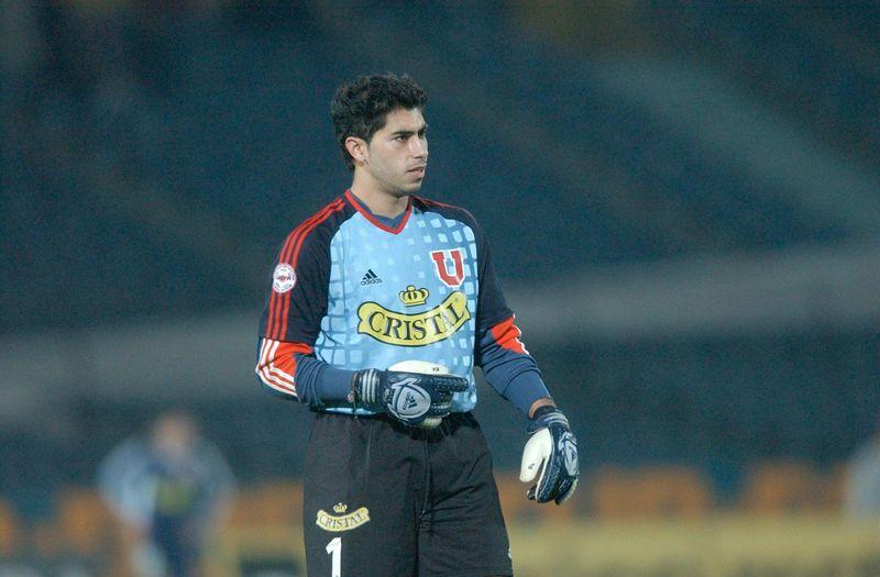 Herrera durante sus inicios en la U.