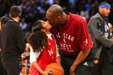 Mambacita y su padre Kobe Bryant
