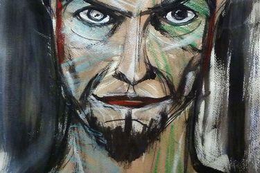 Su otra obra: las pinturas de David Bowie