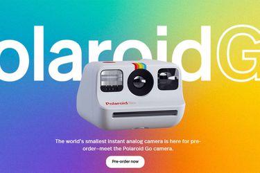 Polaroid anuncia la cámara análoga instantánea más pequeña hasta ahora