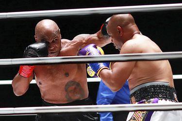 El regreso de Mike Tyson termina en empate