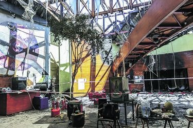 Piden pruebas de Carabineros en incendio de Centro Alameda