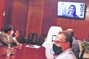 Bancada PS entrega su respaldo a postulación de Paula Narváez