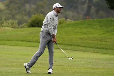 Dustin Johnson tomó el solitario liderato del PGA Championship