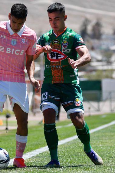 Marcelino Núñez, en el duelo ante Cobresal