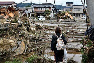 Tifón Hagibis en Japón deja al menos 67 muertos