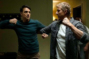 Ralph Macchio y William Zabka tratan de determinar al verdadero malo de Karate Kid en un video promocional de Cobra Kai