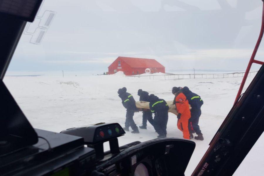 Rescate en la Antártica