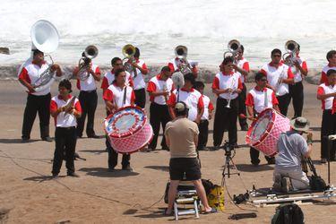 Las bandas de bronce, una música que se funde con Sudamérica