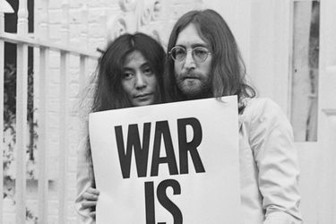 war is over lennon ono