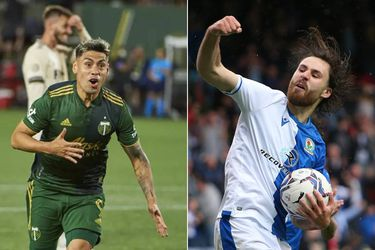 Ben Brereton y Felipe Mora: los goleadores chilenos en el extranjero que esperan el llamado de Lasarte
