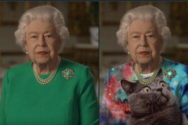 Reina Isabel II realiza histórico discurso e Internet la convierte en un meme