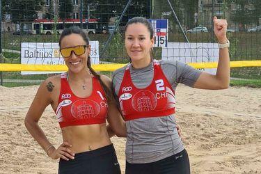 Francisca Rivas y Chris Vorpahl consiguen un histórico bronce en Vilna