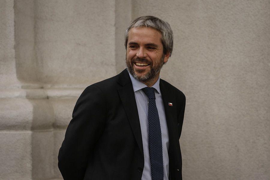 Gonzalo Blumel, ministro del Interior.