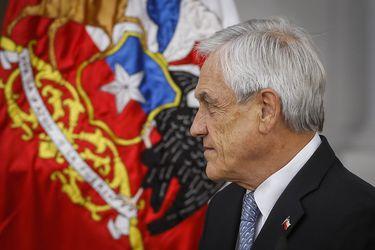 Sebastián Piñera, presidente de la República.