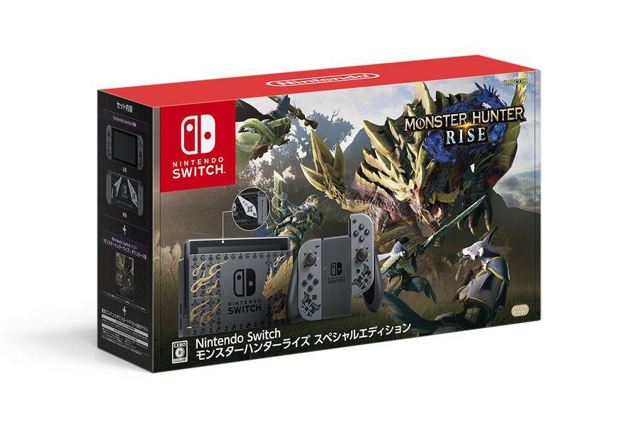 Monster Hunter Rise tendrá su propia edición de Nintendo Switch en Japón - La Tercera