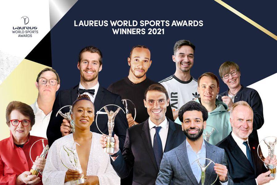 Naomi Osaka y Rafael Nadal destacaron como los mejores del año en los premios Laureus.