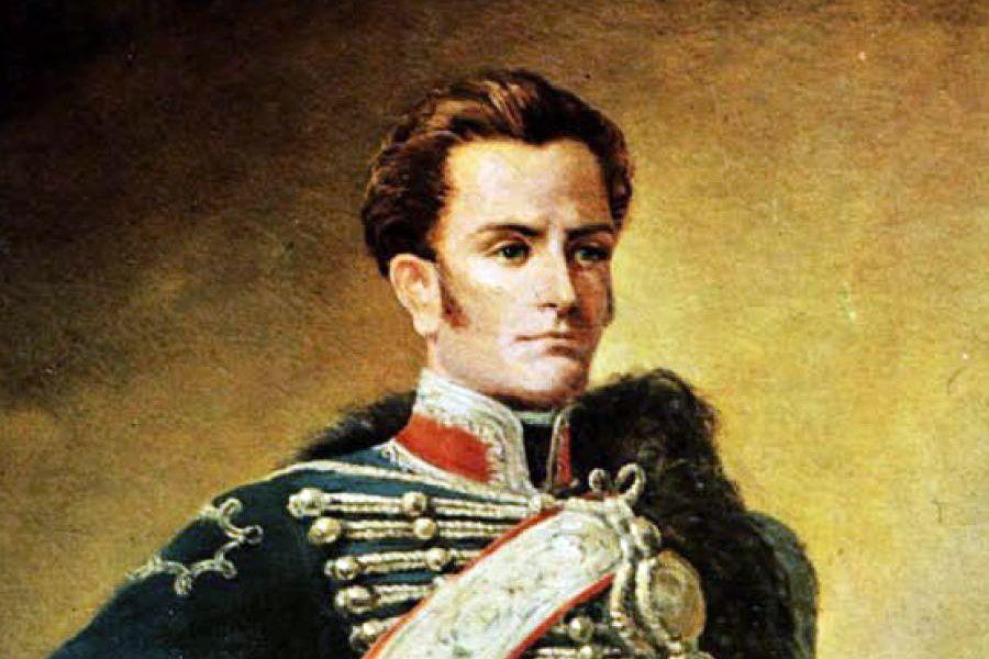Jose Miguel Carrera pintura