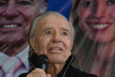 Menem, el símbolo de la Argentina neoliberal de los 90