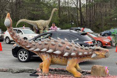 En octubre arrancará Dinosaurios Auto-Tour, una nueva exhibición de animatronics que quiere que se sientan como en Jurassic Park