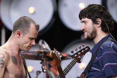 Del punk al jazz: Flea y John Frusciante develan las canciones que los formaron