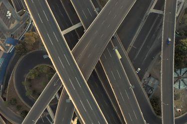 Drones muestran las calles vacías de Latinoaméricaen la cuarentena