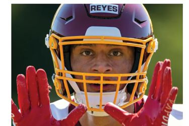 Sammis Reyes en la portada de Sports Ilustrated